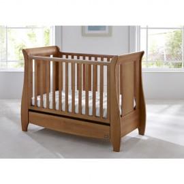 Set patut si salteluta pentru bebelusi Lucas Oak Tutti Bambini