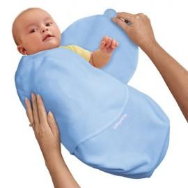 Sistem de infasare pentru bebelusi SwaddleMe Albastru Summer Infant 73674