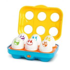 Bright Starts 52125 Jucarie Put n Shake Eggs Giggling Gourmet