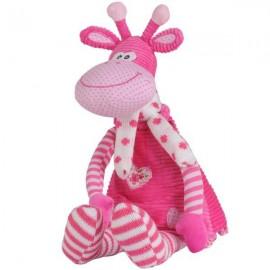 Jucarie din plus cu zornaitoare Girafa Lilly 53 cm BabyOno