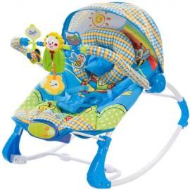 Balansoar cu melodii si vibratii Lion Sun Baby