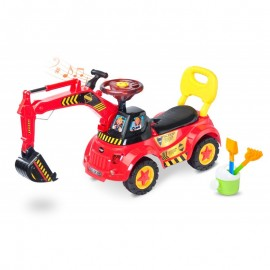 Excavator ride-on SCOOP Toyz by Caretero