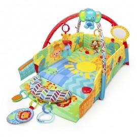 Salteluta de joaca 5 in 1 Sunny Safari Baby's Play Place 52157