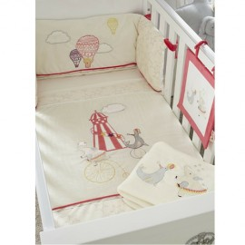 Set lenjerie 7 piese Helter Skelter Tutti Bambini 511100-HS