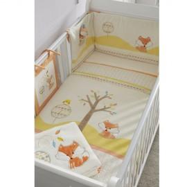 Set lenjerie 7 piese Woodland Walk Bedding Tutti Bambini 511100-WW
