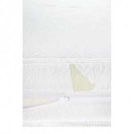 Saltea Sensillo Luxe Hrisca-Spuma-Cocos cu Aloe Vera 120x60 cm