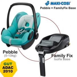 Cos auto Maxi Cosi Pebble 0-13 kg + baza isofix FamilyFix