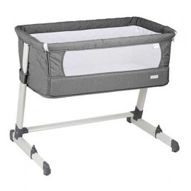 BabyGo - Patut co-sleeper 2 in 1 Together Grey