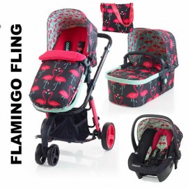 Carucior 3 in 1 Cosatto Giggle Flamingo Fling Limited EDT