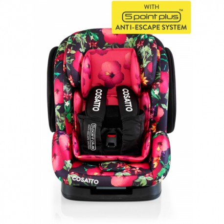 Scaun auto 9-36 kg Cosatto Hug Tropico (5 Point Plus)