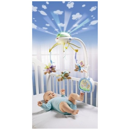 Carusel cu proiector Fisher Price Butterfly Dreams