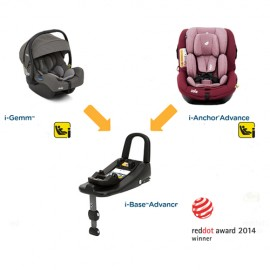Joie - Scaun auto isofix i-Anchor Advance i-SIZE, scoica i-Gemm si Baza I-size