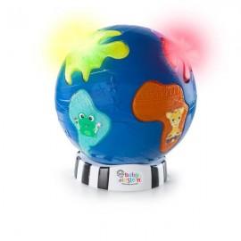 Baby Einstein - 11175 - Jucarie cu lumini si sunete Discovery Globe