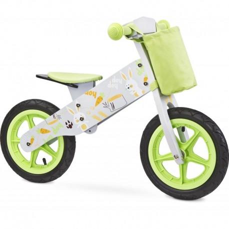 Bicicleta de lemn fara pedale ZAP Toyz by Caretero