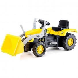 BabyGo - Excavator cu pedale Yellow