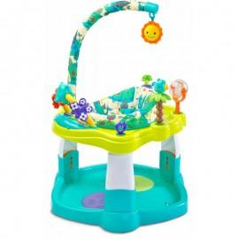 Centru de activitati rotativ Toyz TROPICAL Blue