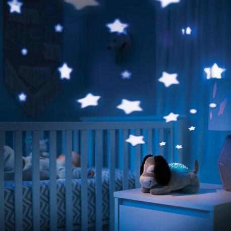 Summer Infant - 06836 Lampa cu Sunete Si Proiectii Deluxe Puppy