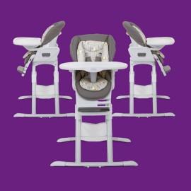 Joie - Scaun de masa rotativ 360 Mimzy Denim