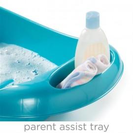 Set cadita si suport de baita Splish n Splash Blue Summer Infant 194396