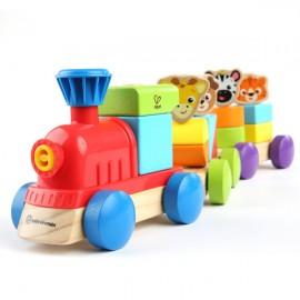 Jucarie de lemn Hape Discovery Train™ Baby Einstein