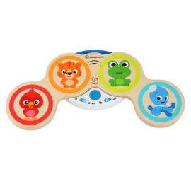 Jucarie muzicala de lemn Hape Magic Touch Drum™ Baby Einstein