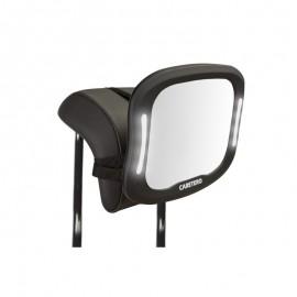 Oglinda cu LED si telecomanda pentru observarea copilului Caretero XL