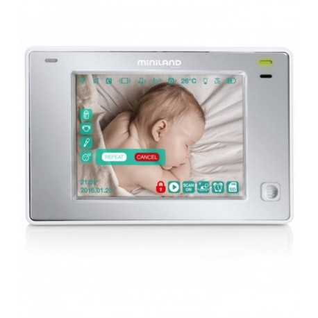 Interfon video DIGIMONITOR 3,5 inch TOUCH Miniland