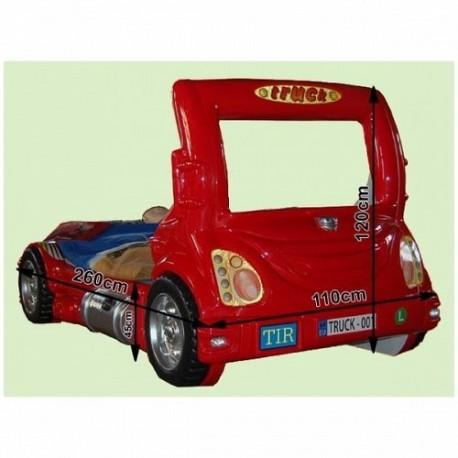Patut in forma de masina Truck Plastiko