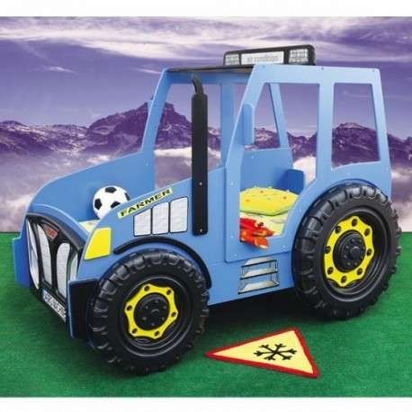 Patut in forma de masina Tractor Plastiko