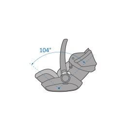 Scoica auto inclinabila i-Size Maxi-Cosi Marble cu baza isofix