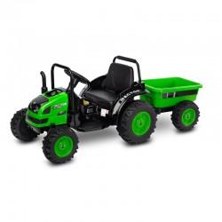 Tractor electric cu remorca...