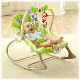 Balansoar 2 in 1 Infant to Toddler Rainforest Friends Fisher-Price