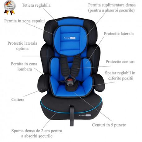 BabyGo – Scaun auto 9-36 kg FreeMove