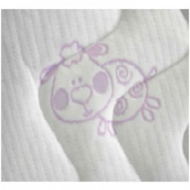 Saltea Latex-Cocos 120x60x10 cm BabyLine