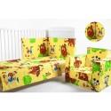 Set lenjerie patut 3 piese Lion King BebeDeco