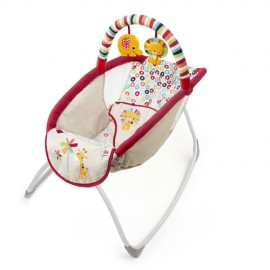 Playful Pinwheels Playtime to Bedtime Rocking Sleeper Bright Starts 60401