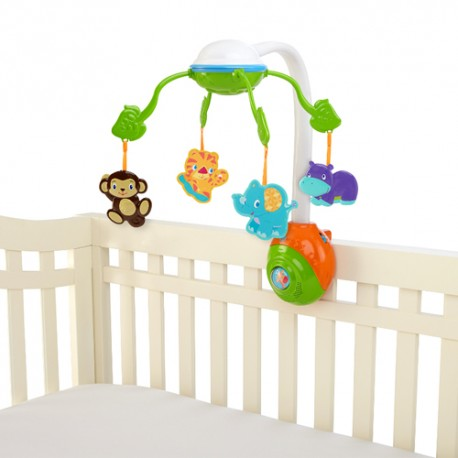 Carusel Bright Starts Soothing Safari 2 in 1 Mobile 8352