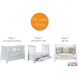 Patut evolutiv 3 in 1 Lucas White Tutti Bambini