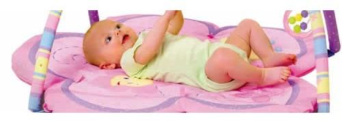 Saltelute de joaca pentru copii si bebelusi