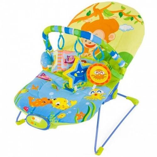 Balansoar cu sunete si vibratii Safari Sun Baby